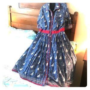 eShakti Sailboat Dress Disneybound